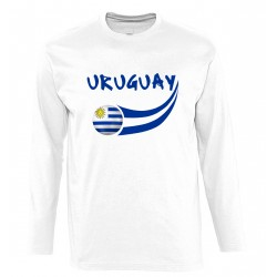 Uruguay long sleeves T-shirt