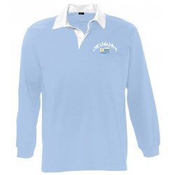 Uruguay long sleeves polo