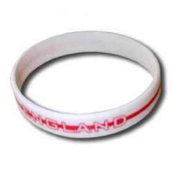 England rubber bracelet