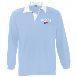 Russia long sleeves polo