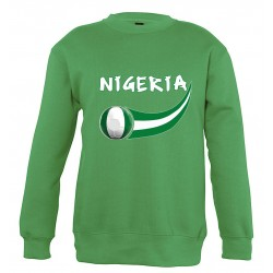 Sweat Nigeria enfant col rond