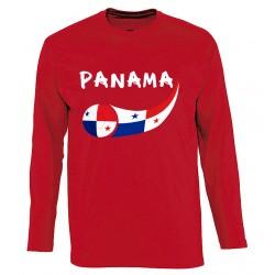 T-shirt Panama manches longues
