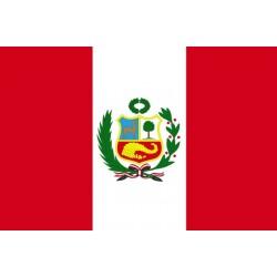 Drapeau Pérou 150 x 90 cm