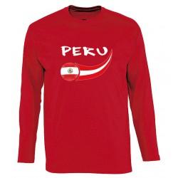 T-shirt Pérou manches longues