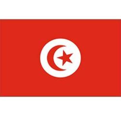 Drapeau Tunisie 150 x 90 cm