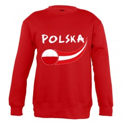 Sweat Pologne enfant col rond