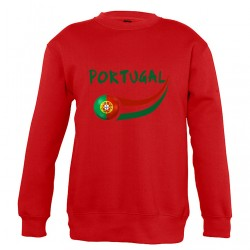Sweat Portugal enfant col rond