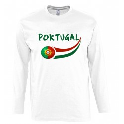 T-shirt Portugal manches...