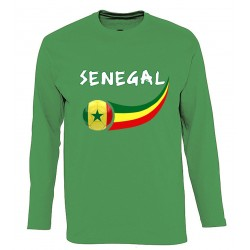 Senegal long sleeves T-shirt