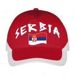 Casquette Serbie