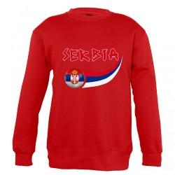 Sweat Serbie enfant col rond