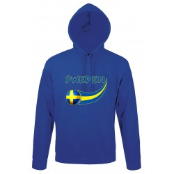 Sweden hooded sweatshirt