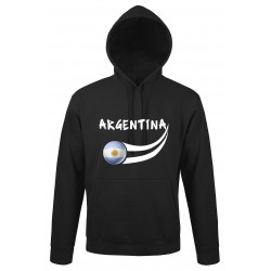 Sweat capuche Argentine