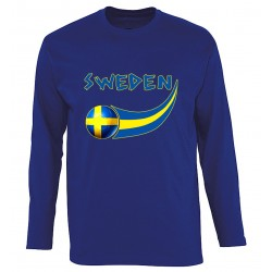 Sweden long sleeves T-shirt