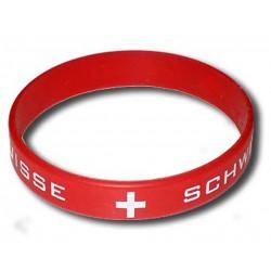 Switzerland rubber bracelet