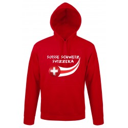 Sweat capuche Suisse