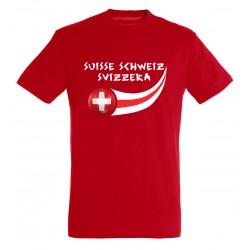 T-shirt enfant Suisse