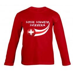 T-shirt Suisse enfant...