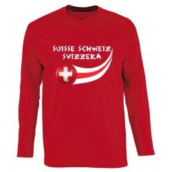 T-shirt Suisse manches longues