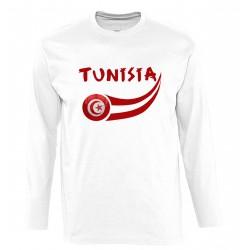 T-shirt Tunisie manches...