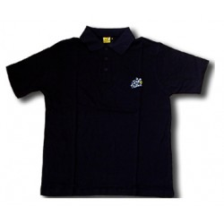 Tour de France black polo
