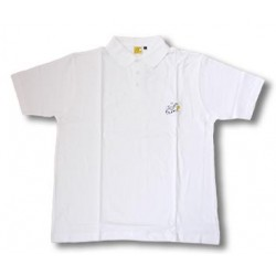 White Tour de France polo