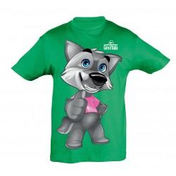 T-shirt mascotte vert Giro...