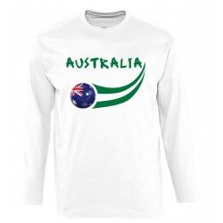 T-shirt Australie manches...