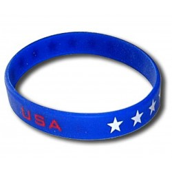 USA rubber bracelet