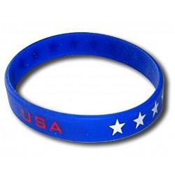 USA rubber bracelet