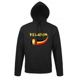 Belgium hooded sweatshirt