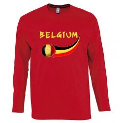 Belgium long sleeves T-shirt
