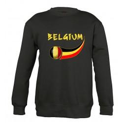 Sweat Belgique enfant col rond