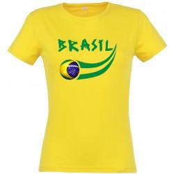 T-shirt femme Brésil