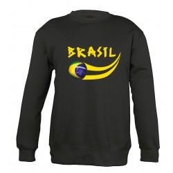 Sweat Brésil enfant col rond