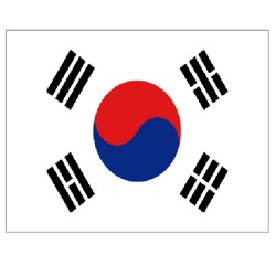 South Korea flag 150 x 90 cm