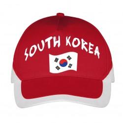 Casquette Corée du Sud