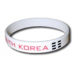 South Korea rubber bracelet