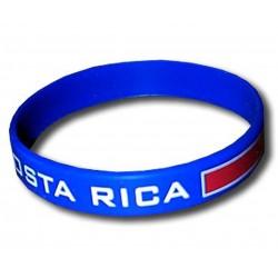 Costa Rica rubber bracelet