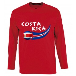 T-shirt Costa Rica manches...