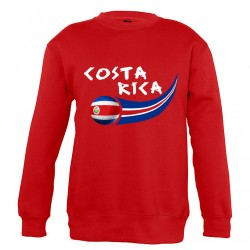 Sweat Costa Rica enfant col...