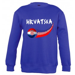 Sweat Croatie enfant col rond