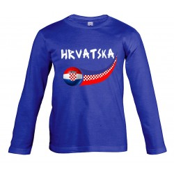 Croatia junior long sleeves...