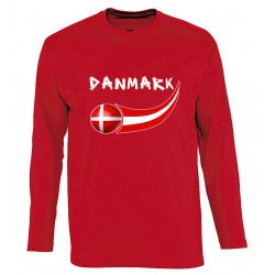 Denmark long sleeves T-shirt