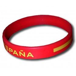 Spain rubber bracelet