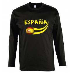 Spain long sleeves T-shirt
