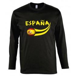 T-shirt Espagne manches...