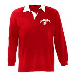 Canada long sleeves polo