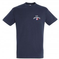 T-shirt France 2 étoiles...
