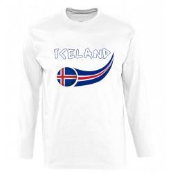 T-shirt Islande manches...
